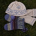 Lovikka Mittens, My Pattern Mittens, and Nordic Hat from Bea Ellis