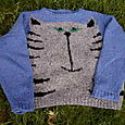 Vogue Knitting Cat