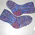 Royal Fireworks Socks