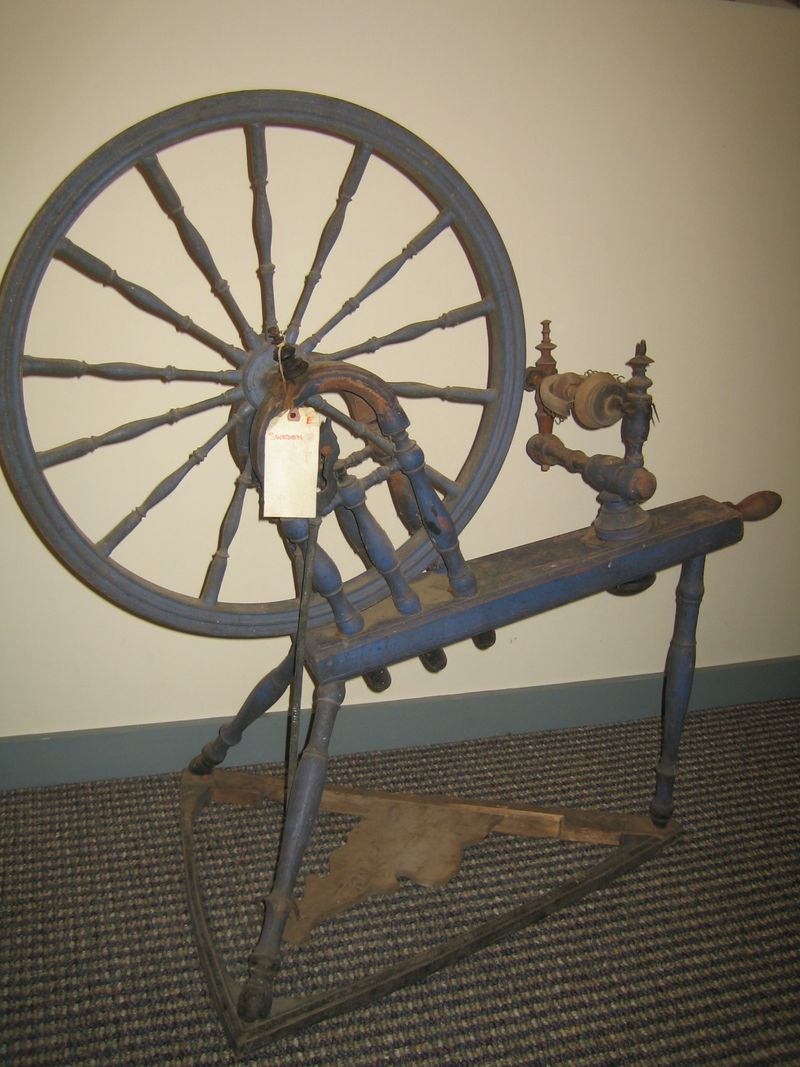Swedish Spinning Wheel